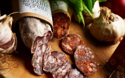 Salamis and chorizo back in stock